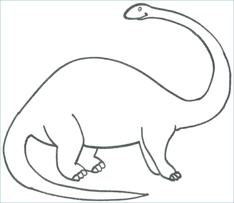 Dinosaur Coloring Pages Preschool at GetColorings Free - coloring dinosaur