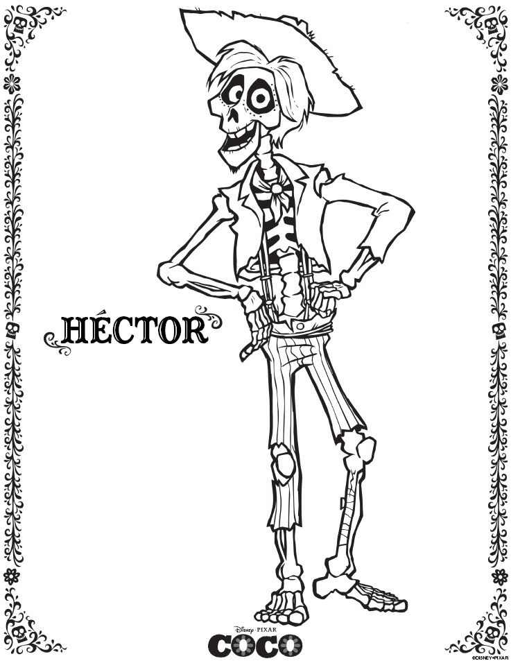 disney coco coloring pages at getcolorings com auto electricaldisney coco coloring pages at getcolorings com