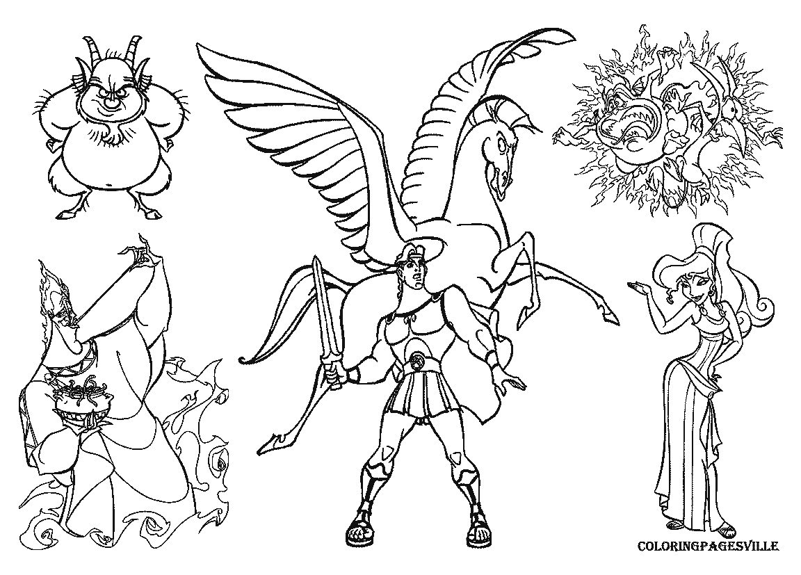 Hades Coloring Pages - Democraciaejustica