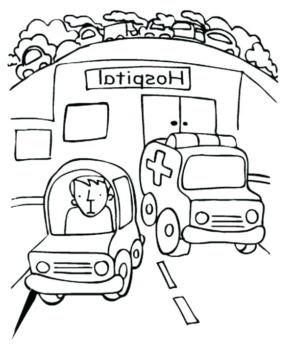 Emergency Vehicle Coloring Pages at GetColorings Free