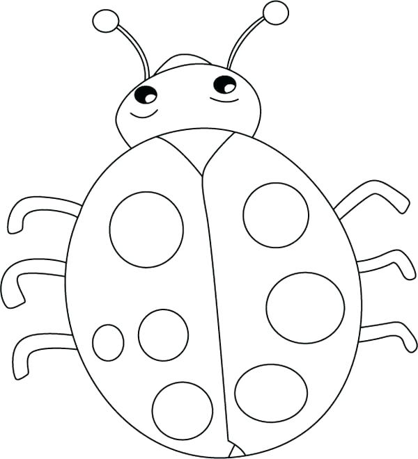 Ladybug Printable Coloring Pages at GetColorings Free