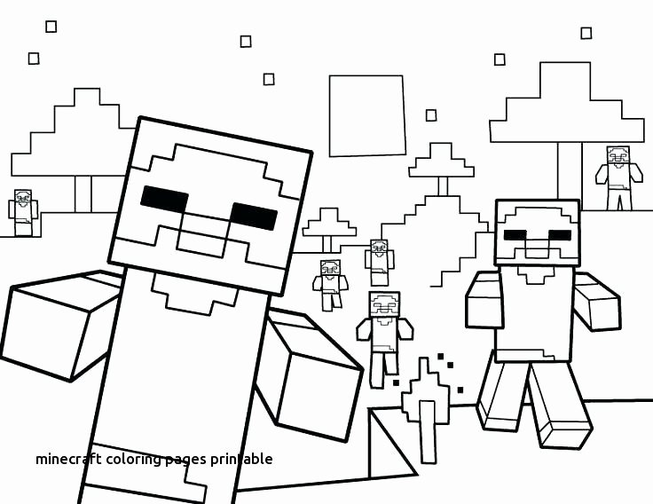 Minecraft Coloring Pages To Print at GetColorings Free