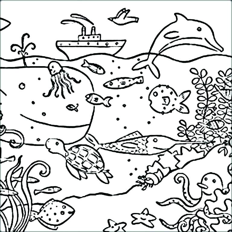 Ocean Waves Coloring Pages at GetColorings Free printable