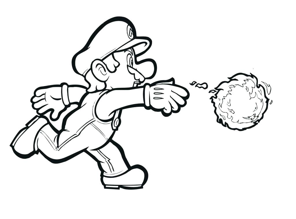 Printable Mario Coloring Pages at GetColorings Free printable - mario coloring pages
