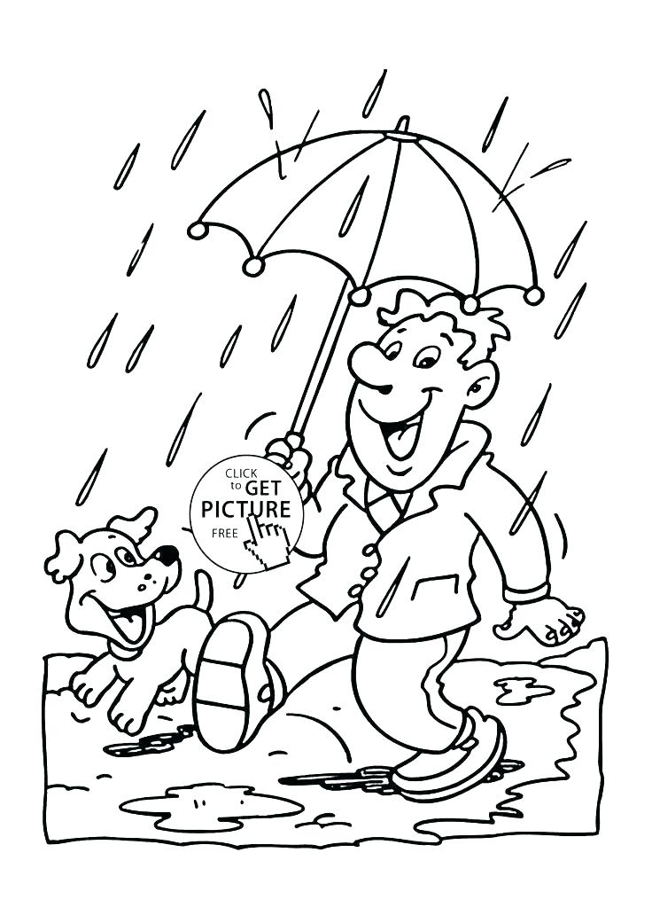 Rain Coloring Pages For Kids at GetColorings Free printable