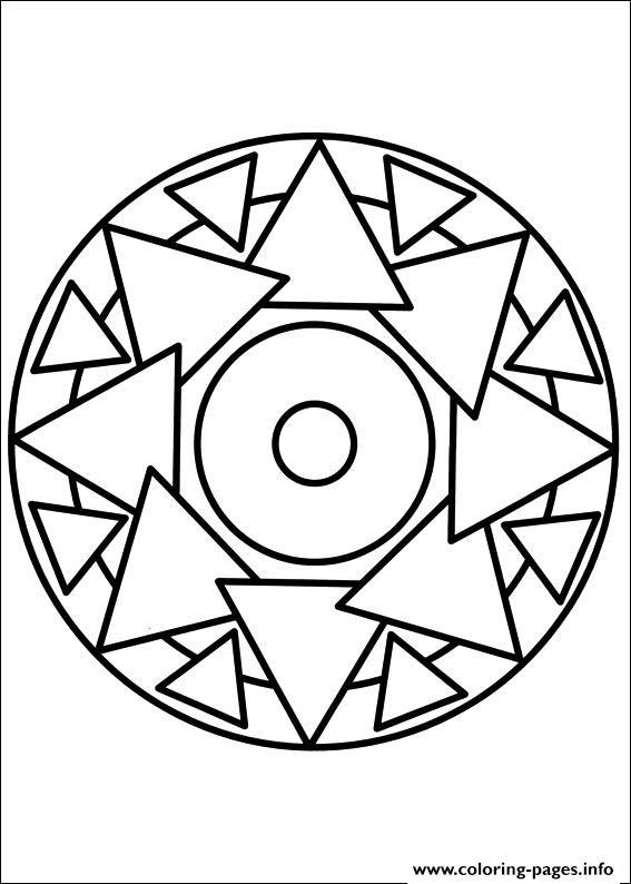 easy mosaic patterns printable