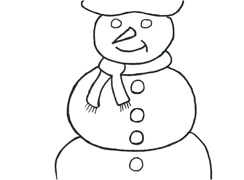 Snowman Face Coloring Page at GetColorings Free printable - snowman face template