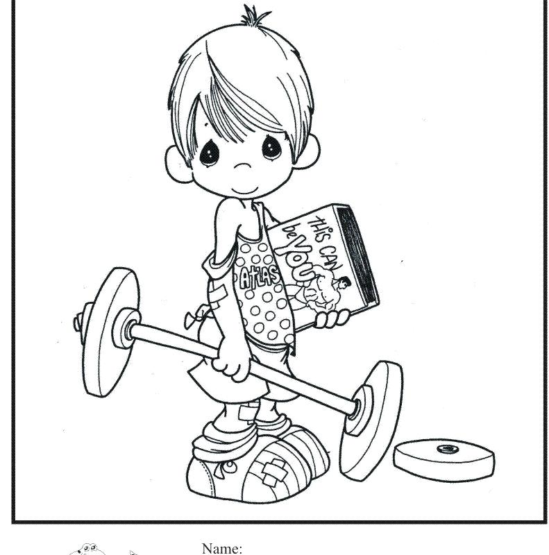 Weightlifting Coloring Pages at GetColorings Free printable