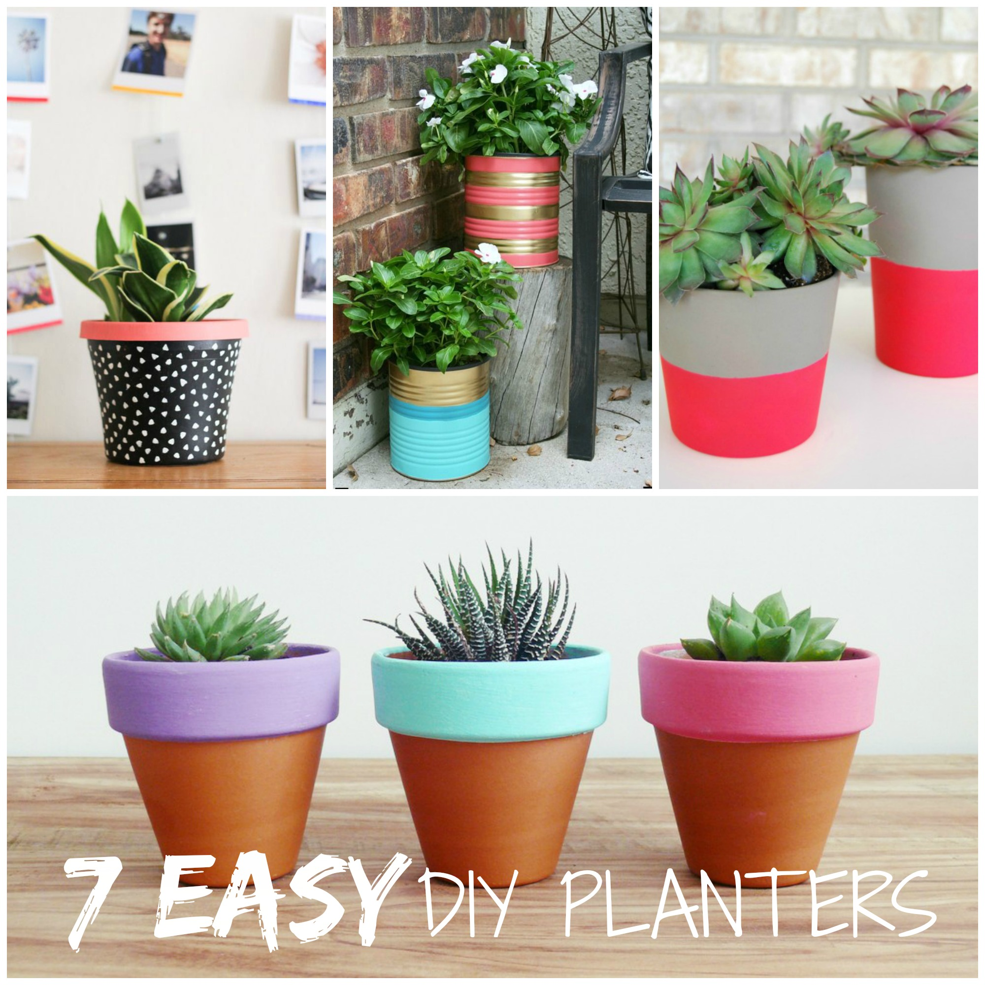 Simple Planters Trending Tuesday 7 Easy Diy Planters Creative Juice
