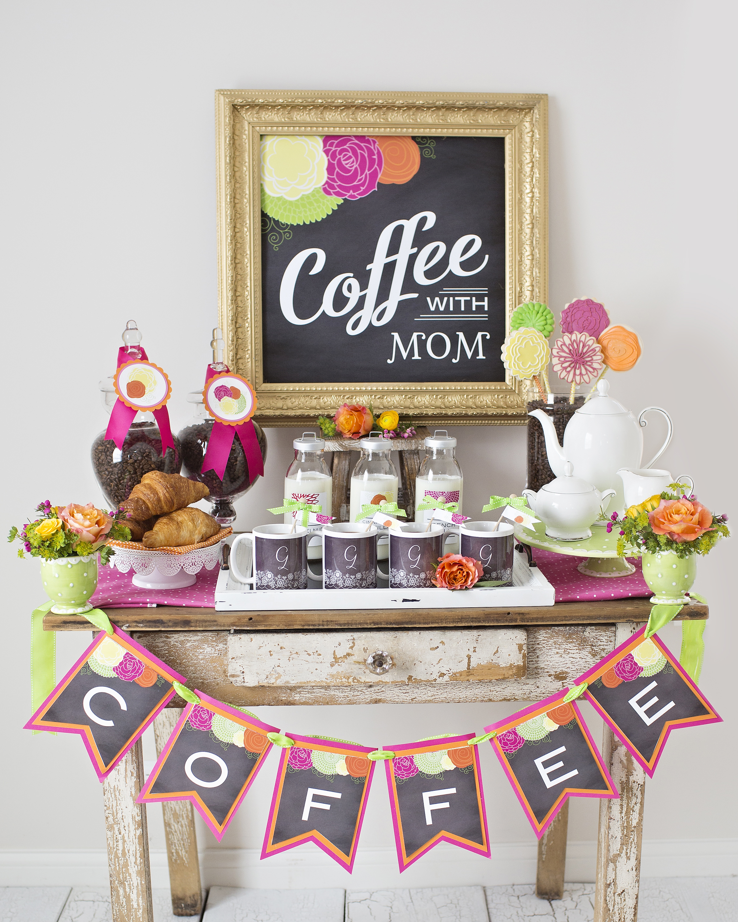 Coffee Bar Ideas For Party Mother 39s Day Coffee With Mom