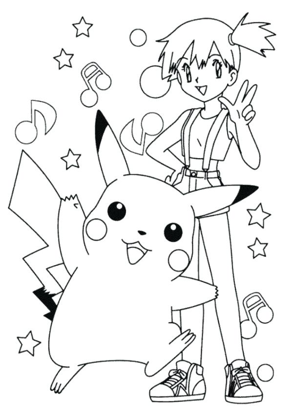 Ash Ketchum Coloring Page at GetDrawings Free for personal use