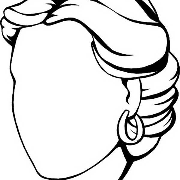 Blank Face Coloring Page at GetDrawings Free for personal use