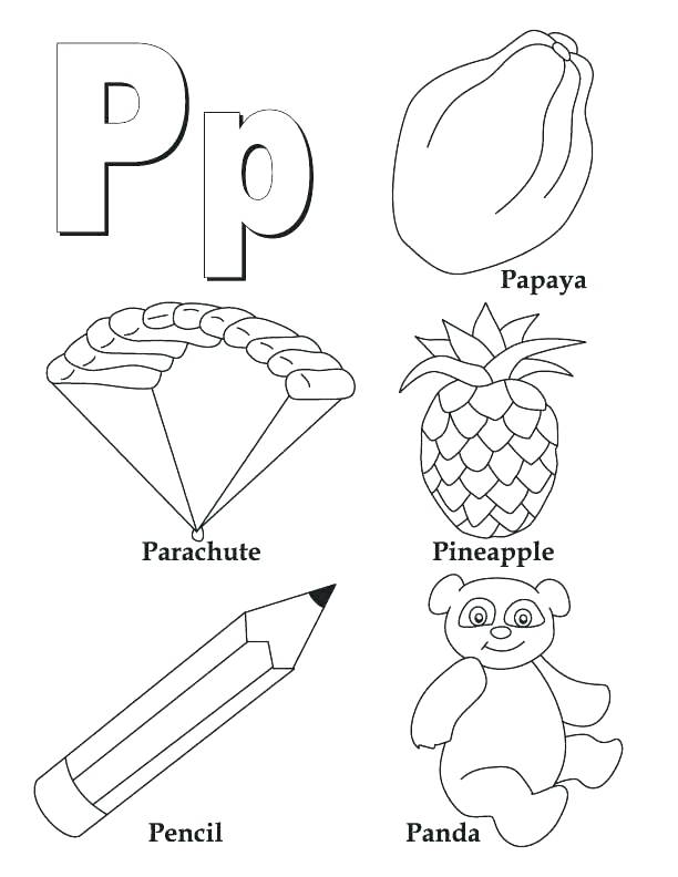 Block Letter Coloring Pages at GetDrawings Free for personal