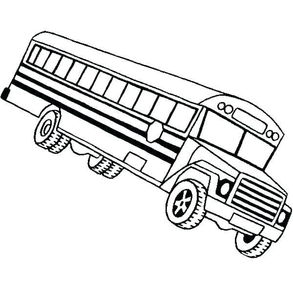 Bus Coloring Pages To Print at GetDrawings Free for personal