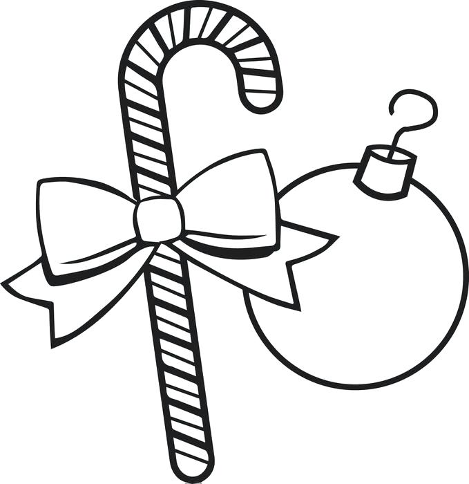 Candy Cane Printable Coloring Pages at GetDrawings Free for
