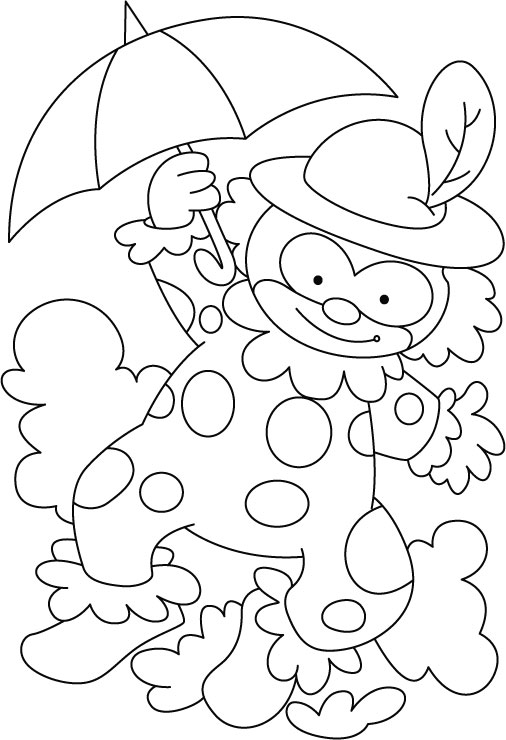 Circus Coloring Pages For Preschool at GetDrawings Free for