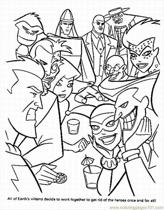Coloring Pages Superheroes Printables at GetDrawings Free for