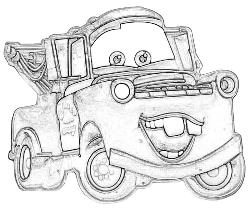 Disney Cars Mater Coloring Pages at GetDrawings Free for