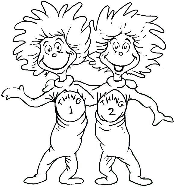 Dr Seuss Coloring Page Printable at GetDrawings Free for
