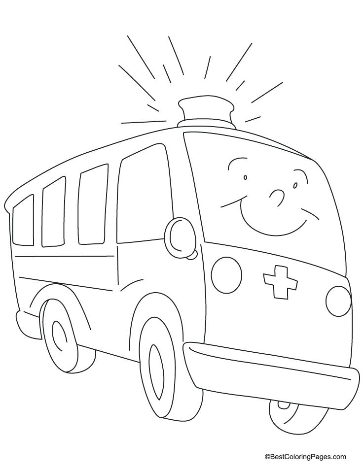 Emergency Vehicle Coloring Pages at GetDrawings Free for