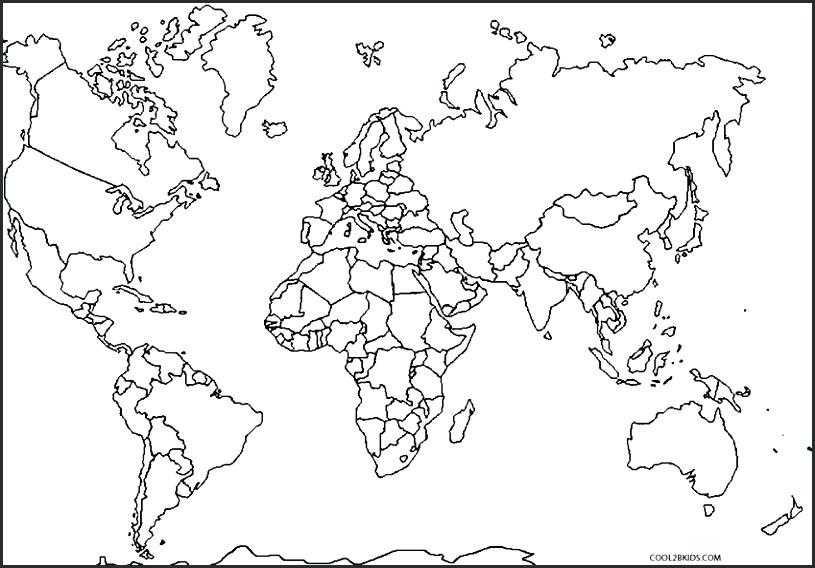 Europe Map Coloring Page at GetDrawings Free for personal use