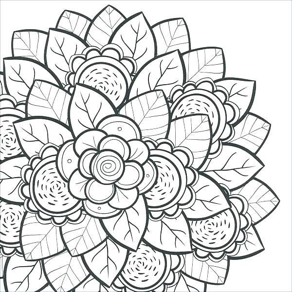 Free Coloring Pages Of Hawaiian Flowers at GetDrawings Free