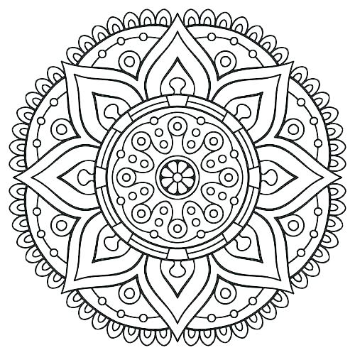 Free Mandala Coloring Pages Pdf at GetDrawings Free for