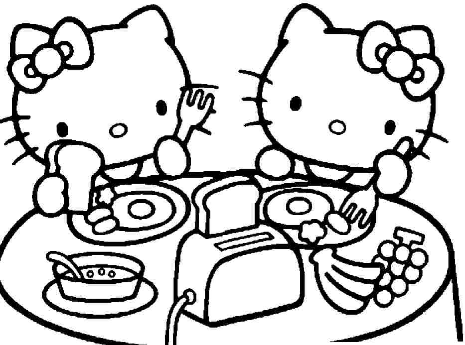 Hello Kitty Coloring Pages To Print Out at GetDrawings Free