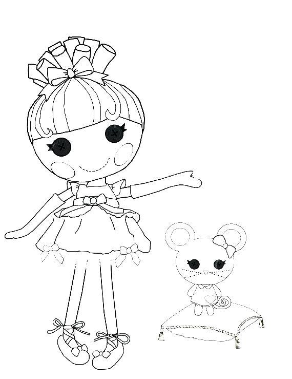 The best free Lalaloopsy coloring page images Download from 381