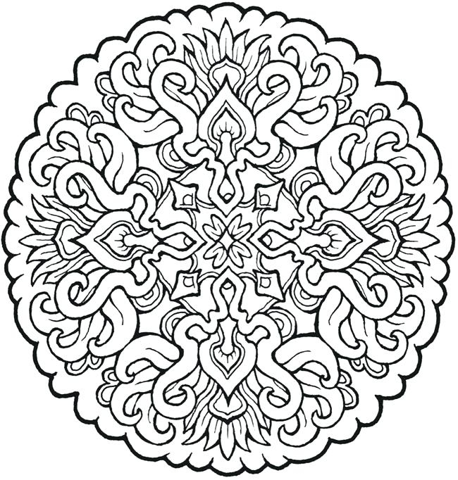 Mandala Coloring Pages Pdf at GetDrawings Free for personal