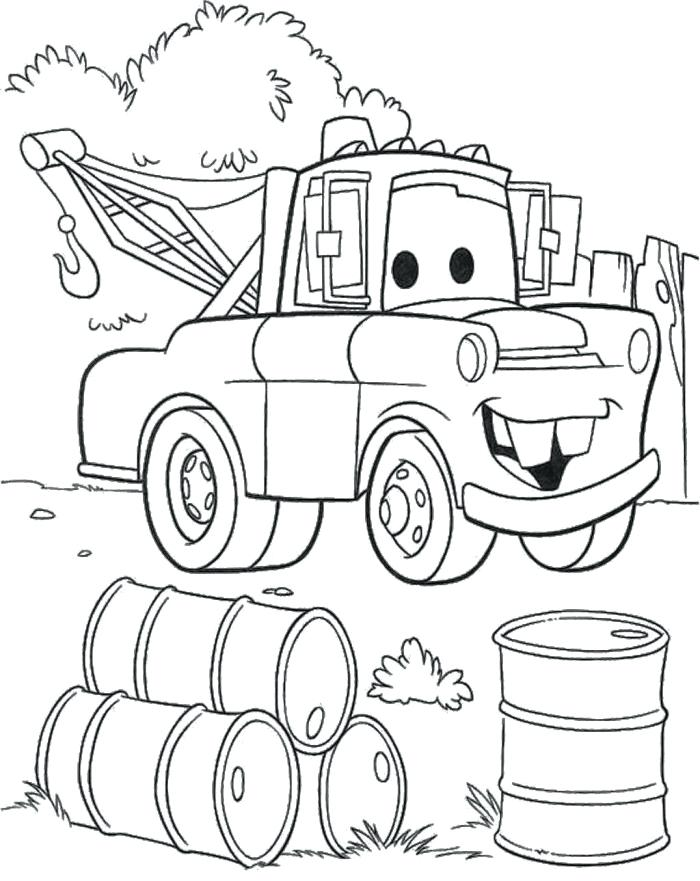 Mater Coloring Pages Free at GetDrawings Free for personal use