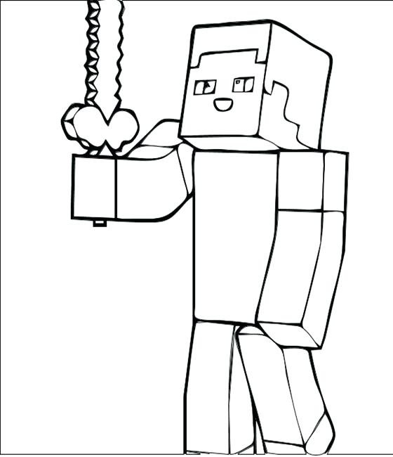 Minecraft Coloring Pages Creeper Face at GetDrawings Free for
