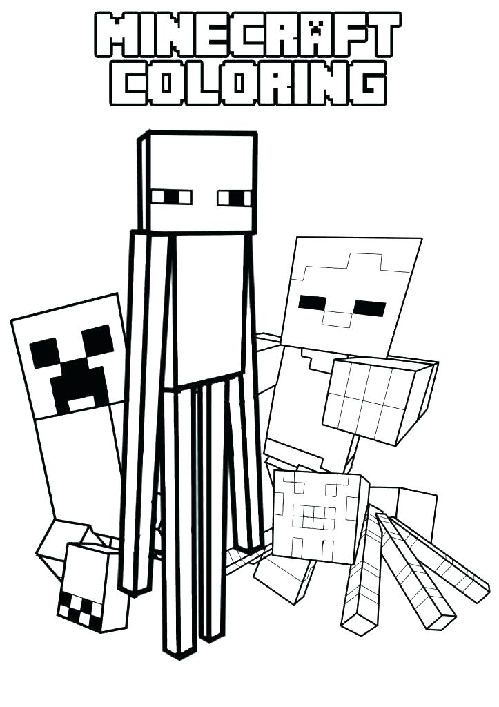 Minecraft Creeper Face Coloring Pages at GetDrawings Free for