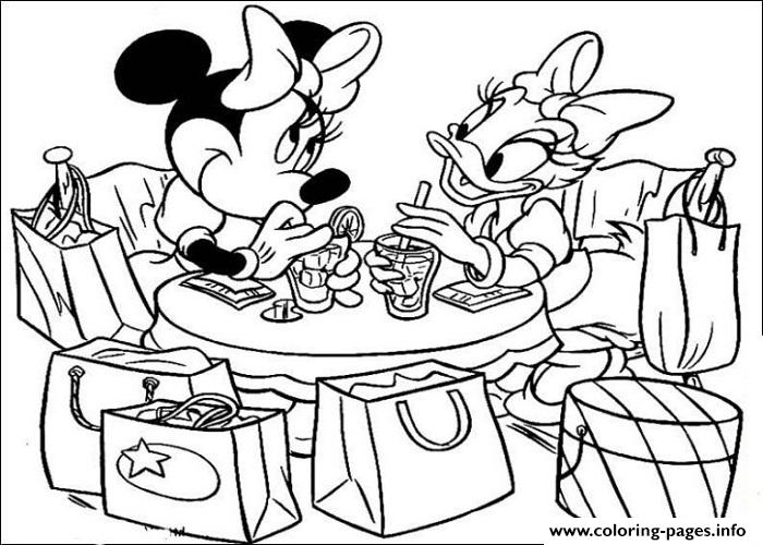 Minnie Mouse And Daisy Duck Coloring Pages at GetDrawings Free