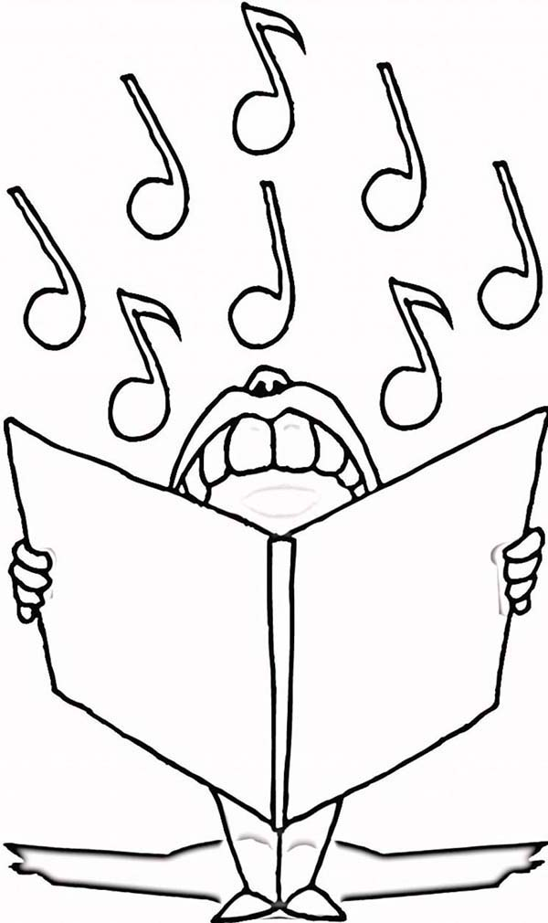 Music Symbol Coloring Pages at GetDrawings Free for personal