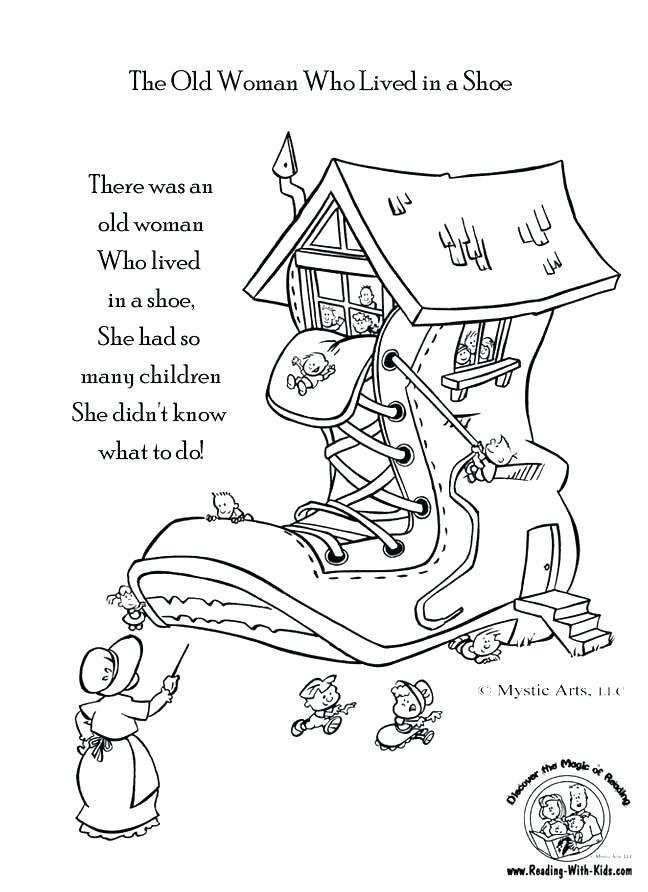 Nursery Rhymes Printables Coloring Pages at GetDrawings Free