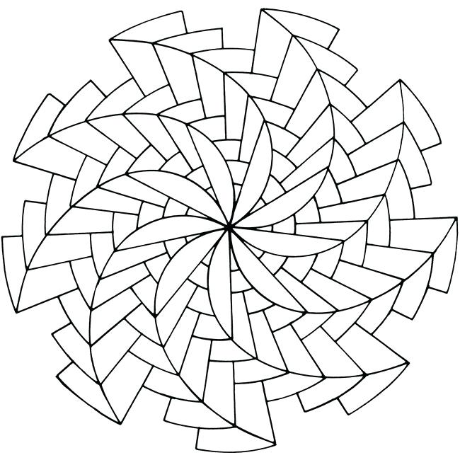 Op Art Coloring Pages at GetDrawings Free for personal use Op