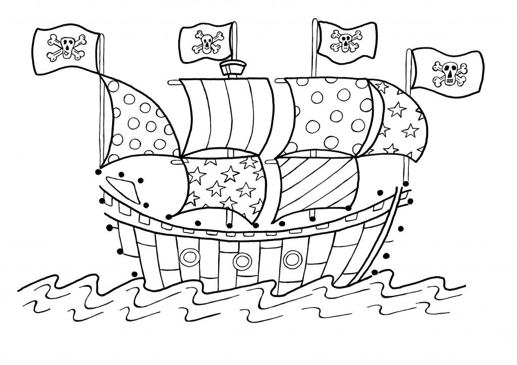 The best free Pirate coloring page images Download from 1226 free