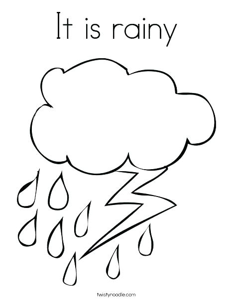 Rain Coloring Pages Printable at GetDrawings Free for personal