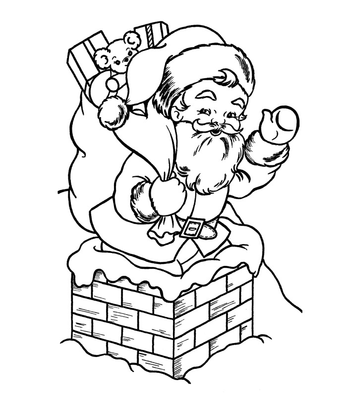Santa And His Sleigh Clipart at GetDrawings Free for personal