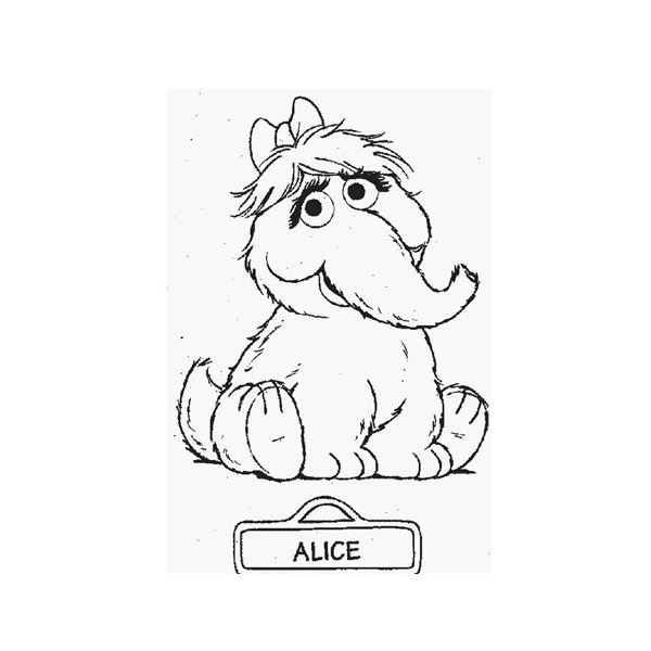 Sesame Street Characters Coloring Pages at GetDrawings Free