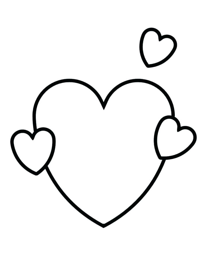 Small Heart Coloring Pages at GetDrawings Free for personal