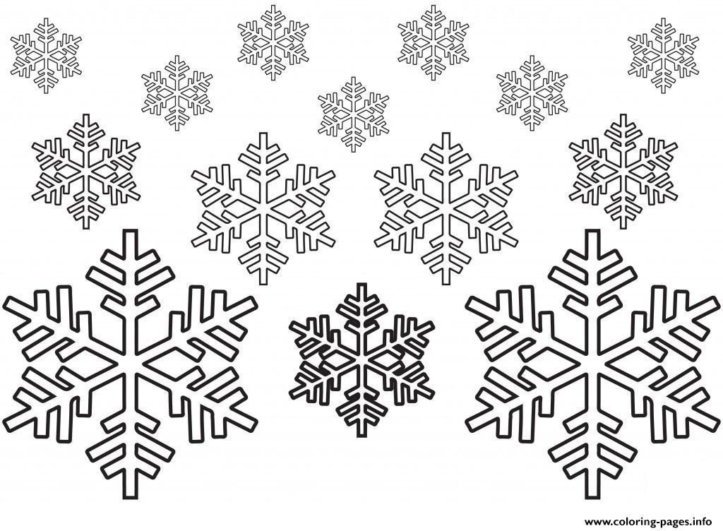 Snowflakes Coloring Pages Free Printable at GetDrawings Free