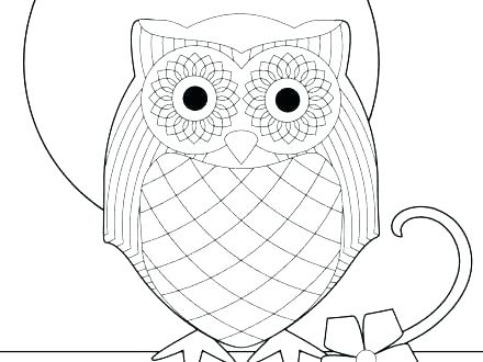 Snowy Owl Coloring Page at GetDrawings Free for personal use