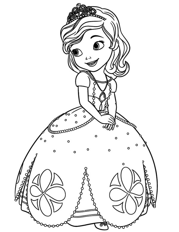 Sofia The First Coloring Pages To Print at GetDrawings Free