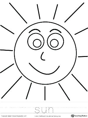 Sunrise Coloring Page at GetDrawings Free for personal use