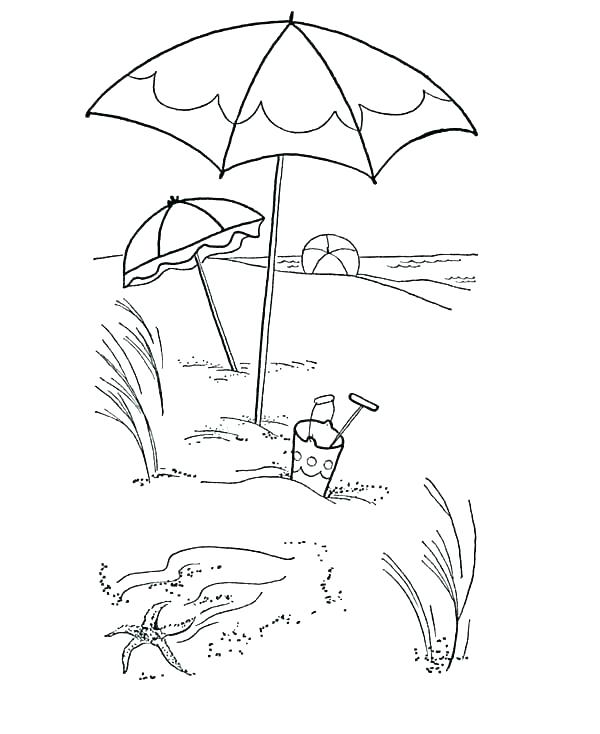 Umbrella Coloring Page at GetDrawings Free for personal use