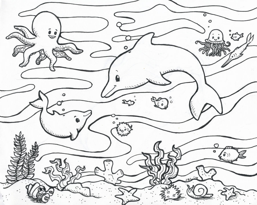 Waves Coloring Page at GetDrawings Free for personal use Waves
