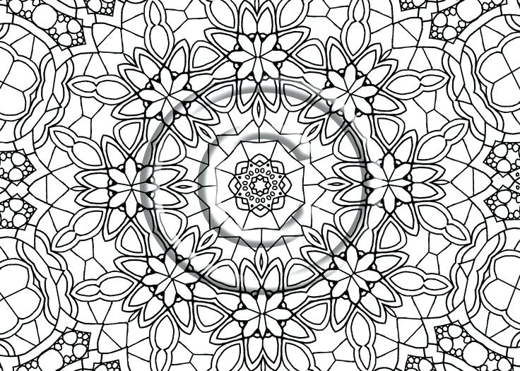 Zentangle Patterns Coloring Pages at GetDrawings Free for