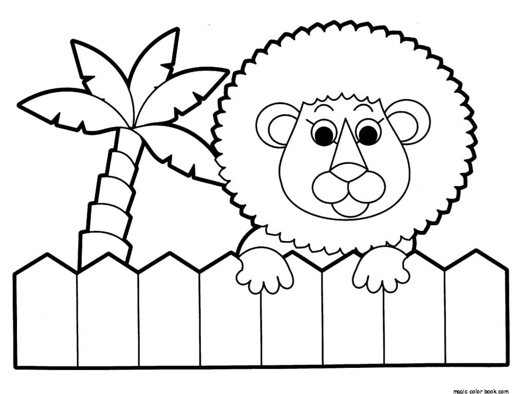 Zoo Coloring Pages at GetDrawings Free for personal use Zoo